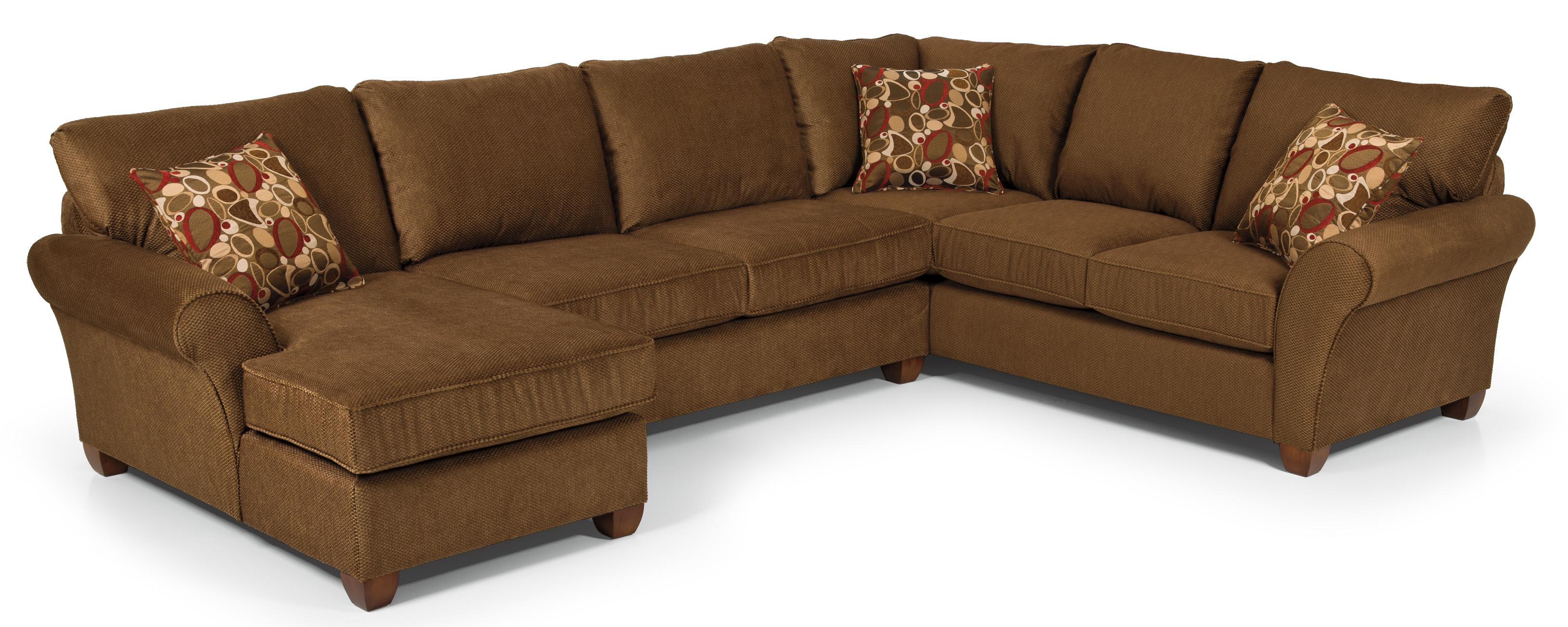 Stanton 320 Transitional Sectional Sofa - Item Number: 32021L+23+10R