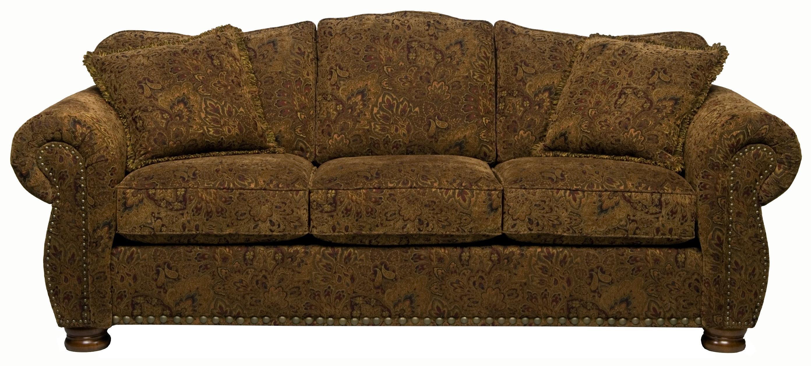 Stanton 326  Camel Back Queen Gel Sofa Sleeper - Item Number: 326-15G