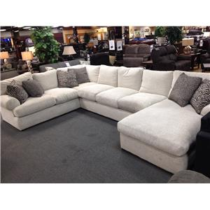 Stanton 329 3 PC Sectional  sc 1 st  Rifeu0027s Home Furniture : stanton 186 sectional - Sectionals, Sofas & Couches