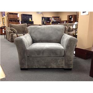 Stanton 330 casual chaise sofa with flared arms rife 39 s for Albany st germain sectional sofa chaise