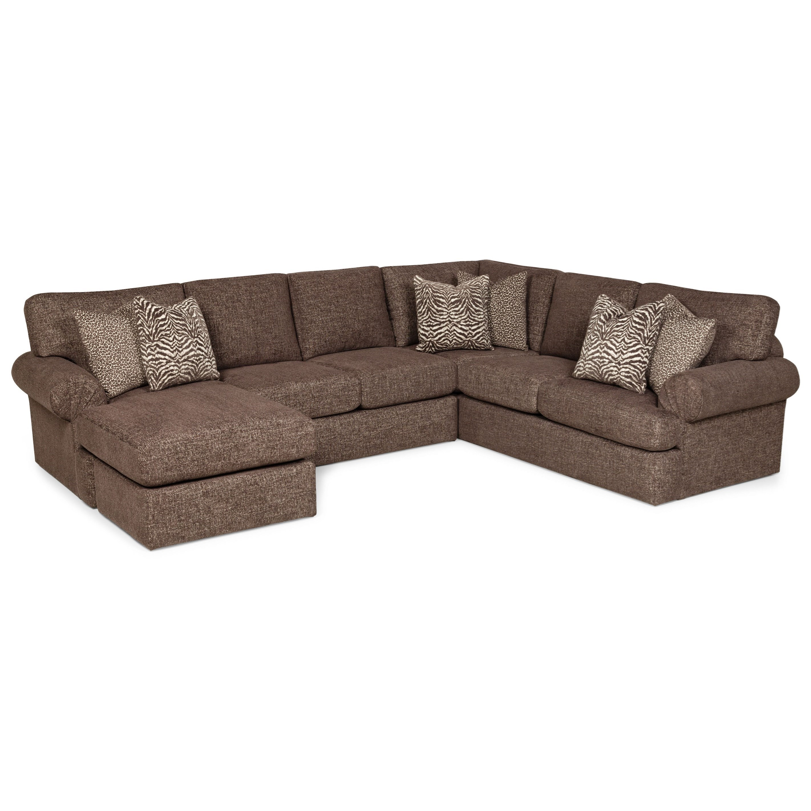 371 5-Seat Sectional Sofa w/ LAF Chaise by Stanton at Wilson's Furniture