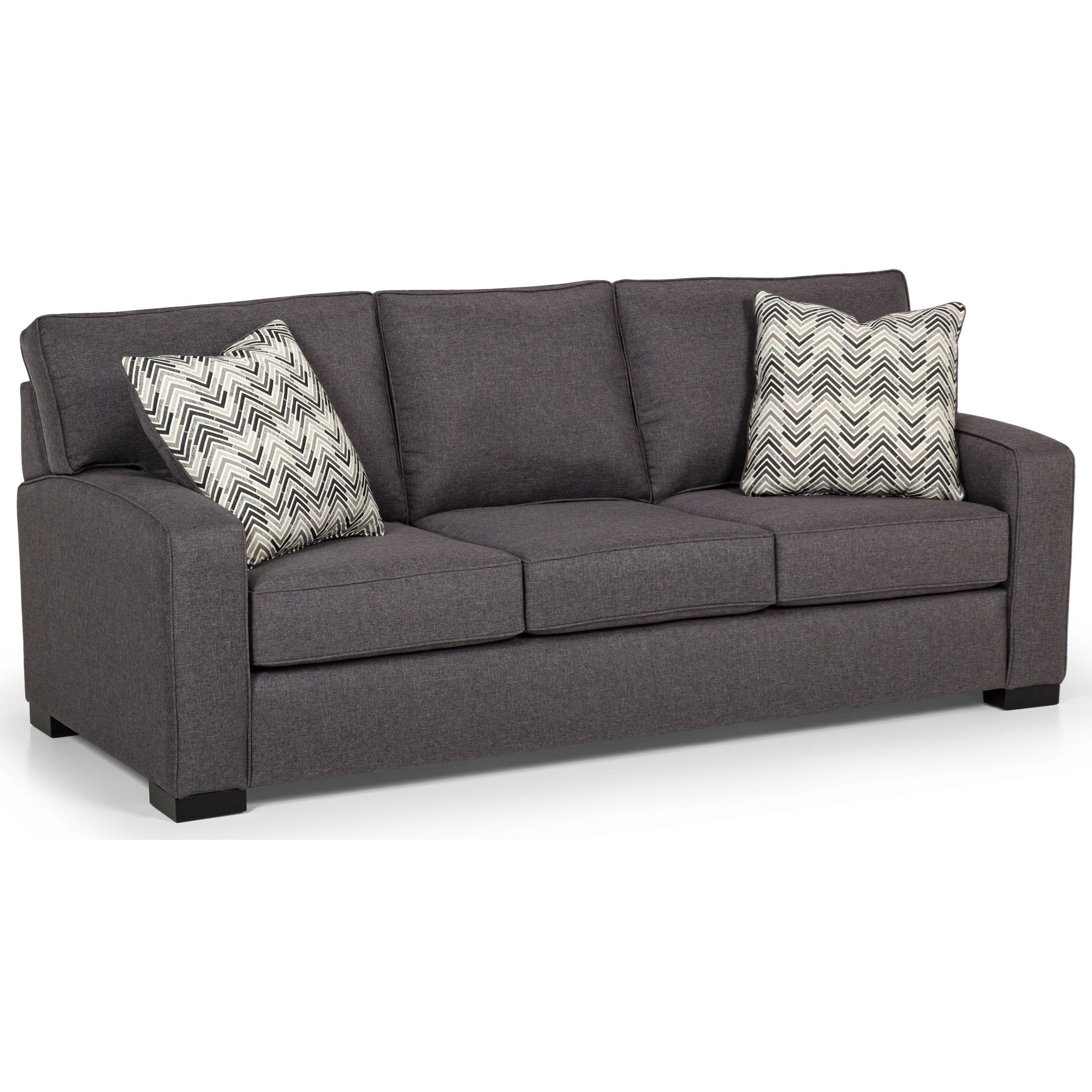 375 Queen Gel Sleeper Sofa by Stanton at Wilson's Furniture