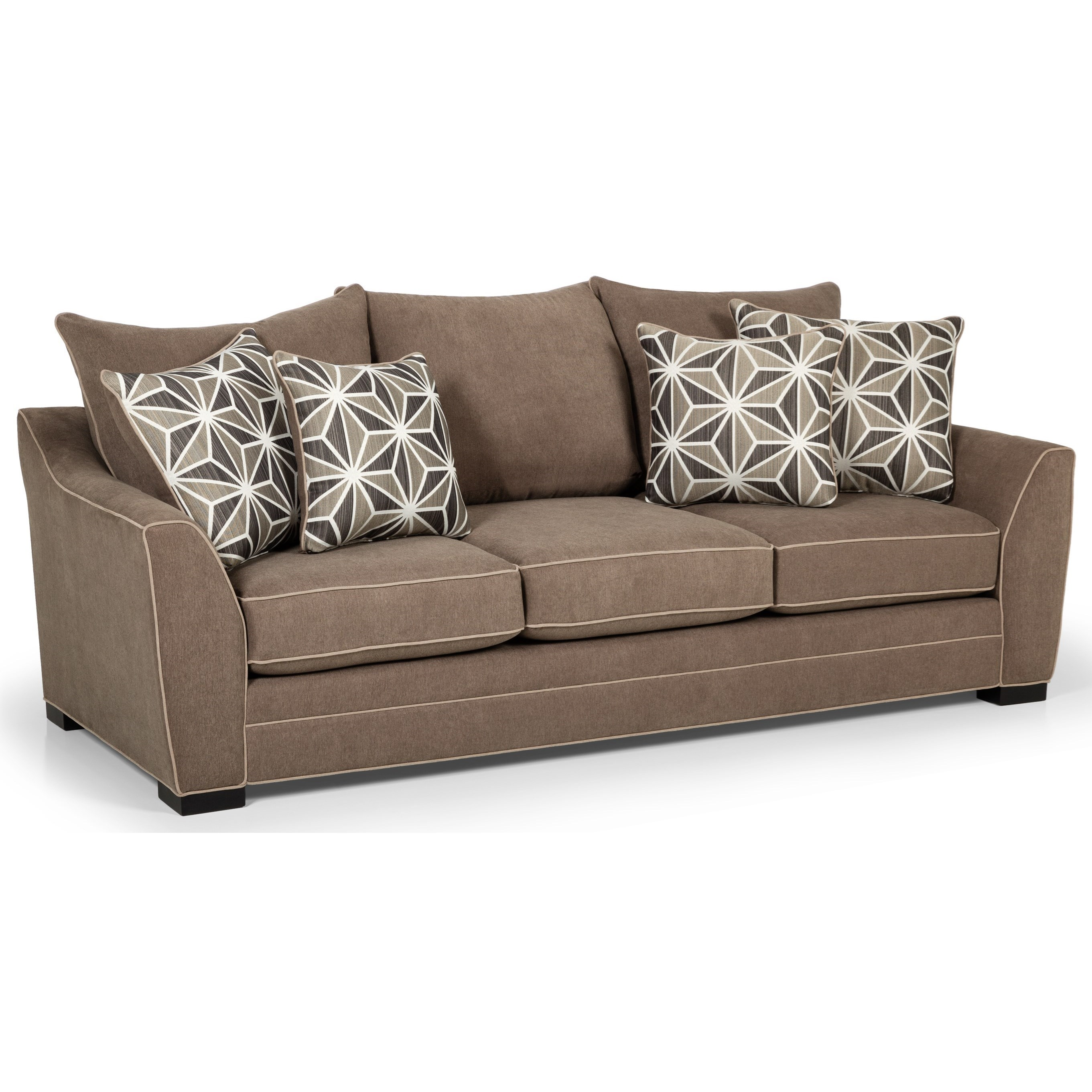 Stanton 378 Casual Sofa With Welt Cord Trim Wilson S