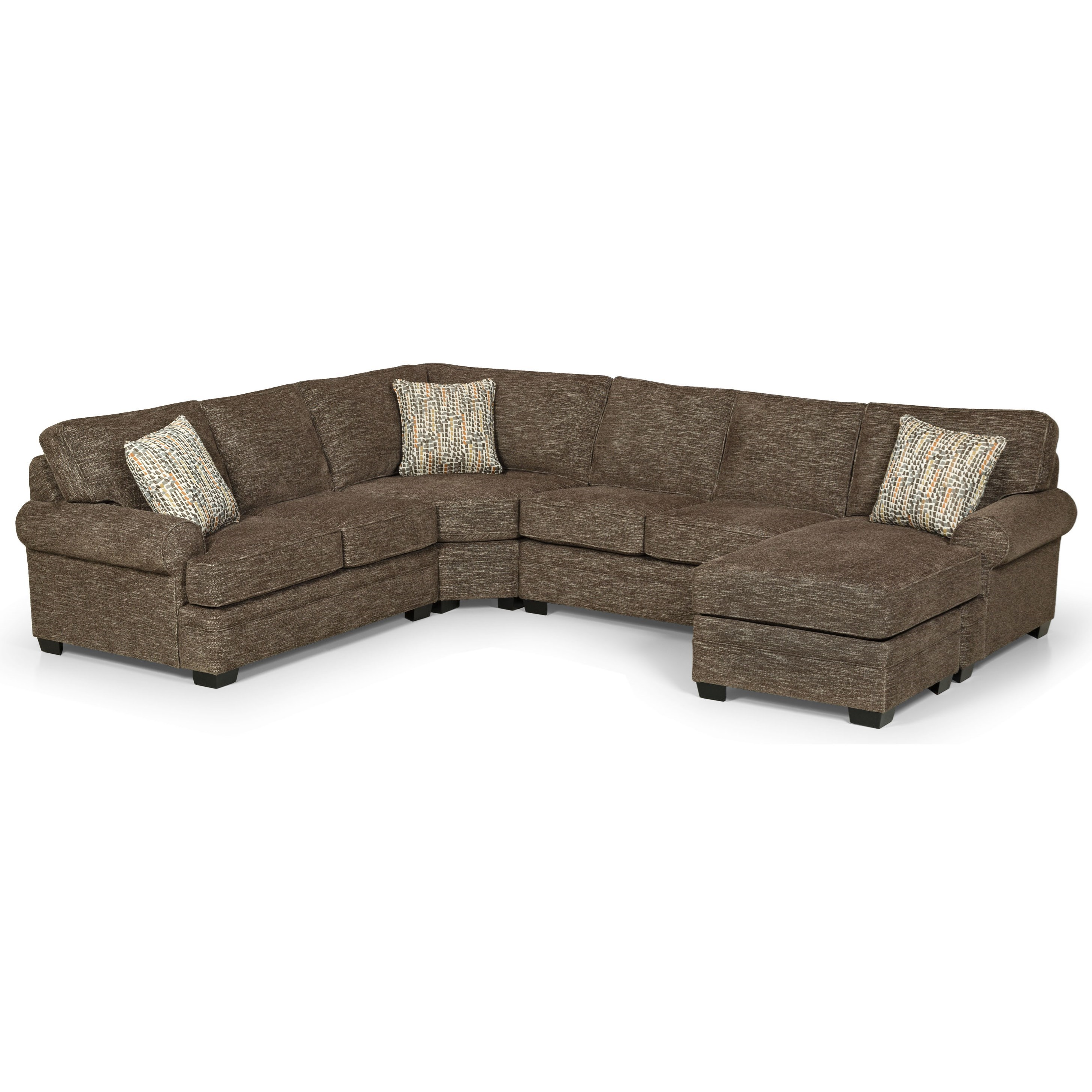 422 5 Seat Sectional Sofa by Sunset Home at Sadler's Home Furnishings
