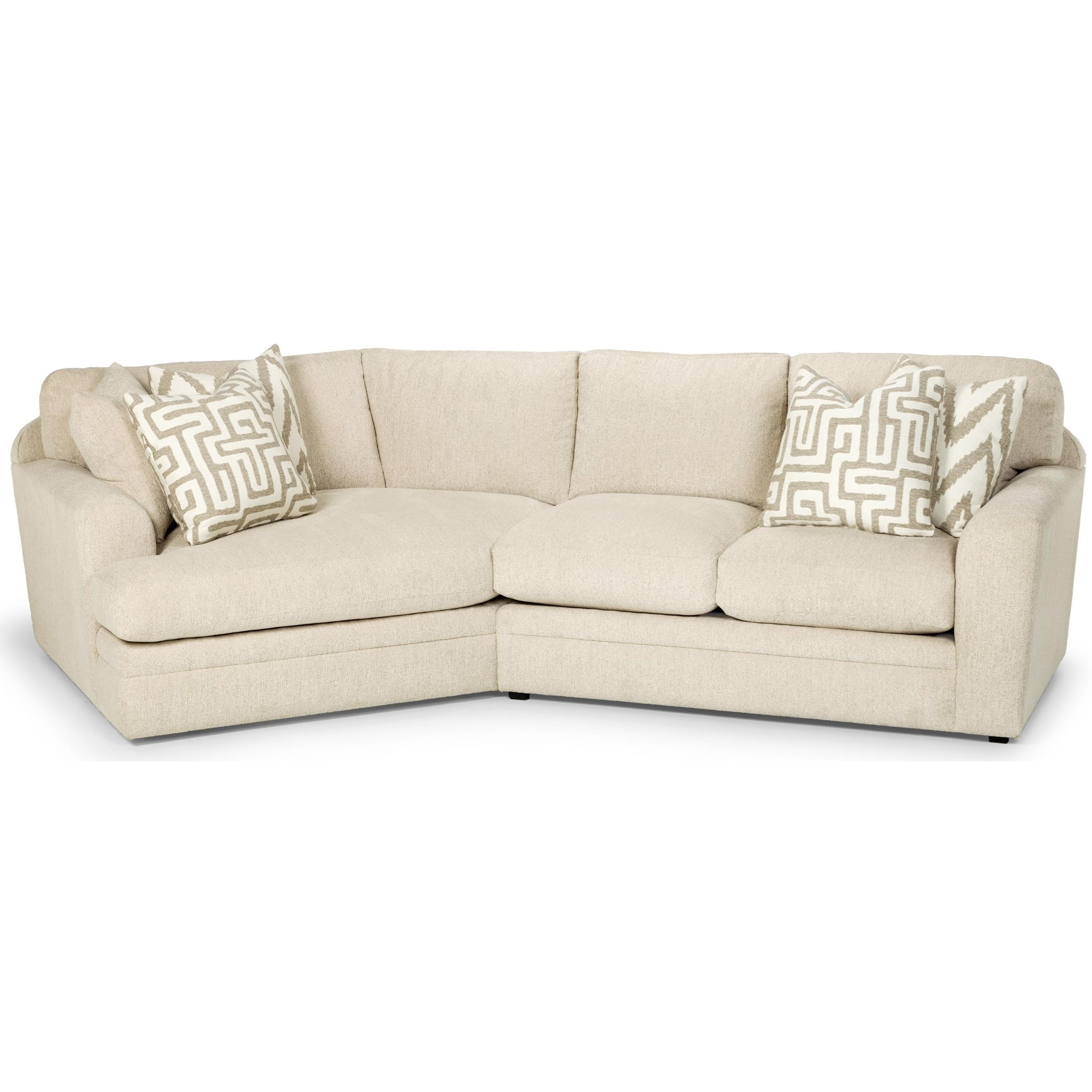 Two Piece Sectional Sofa w/ LAF Cuddler