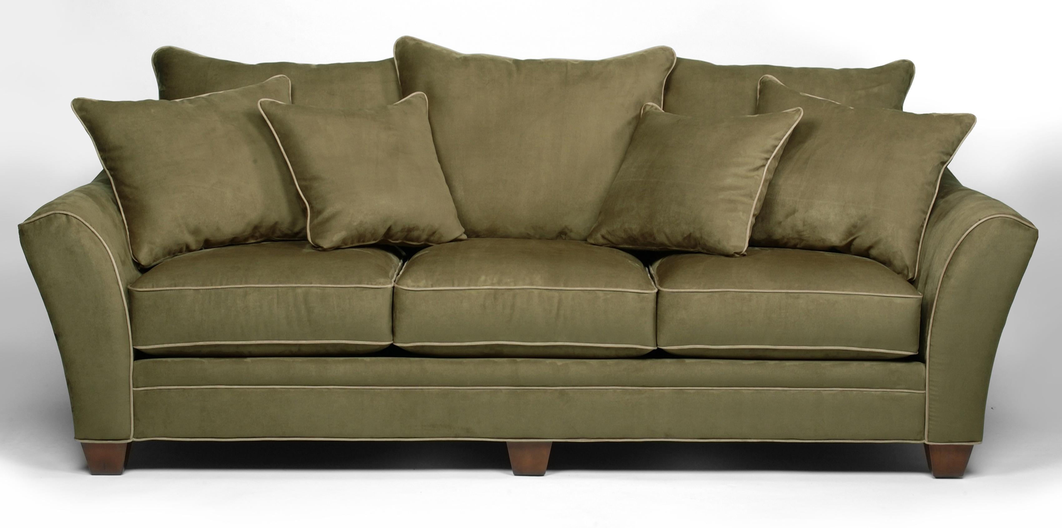 Stanton 456 Transitional Sofa with Scatter Pillow Back ...