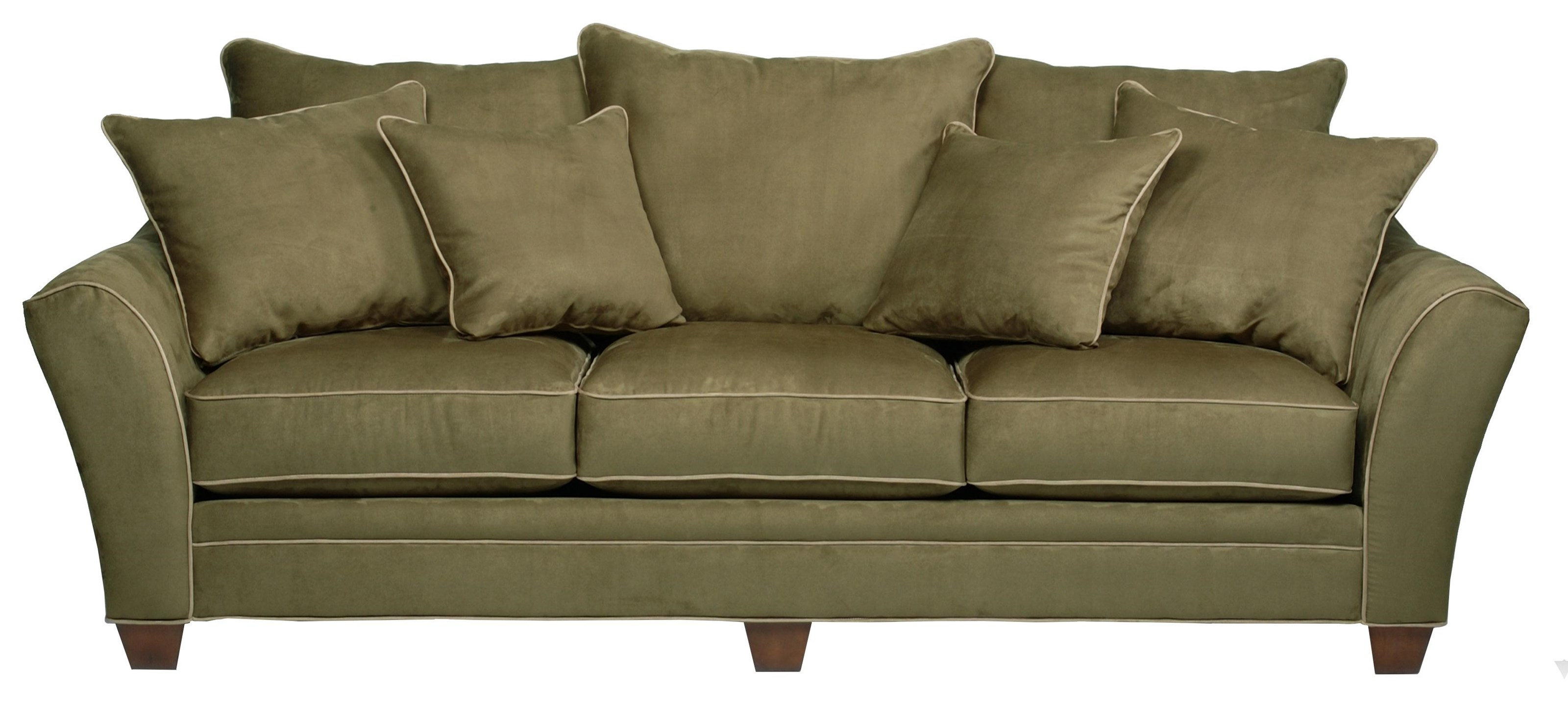456 3-Seater Stationary Sofa by Sunset Home at Sadler's Home Furnishings