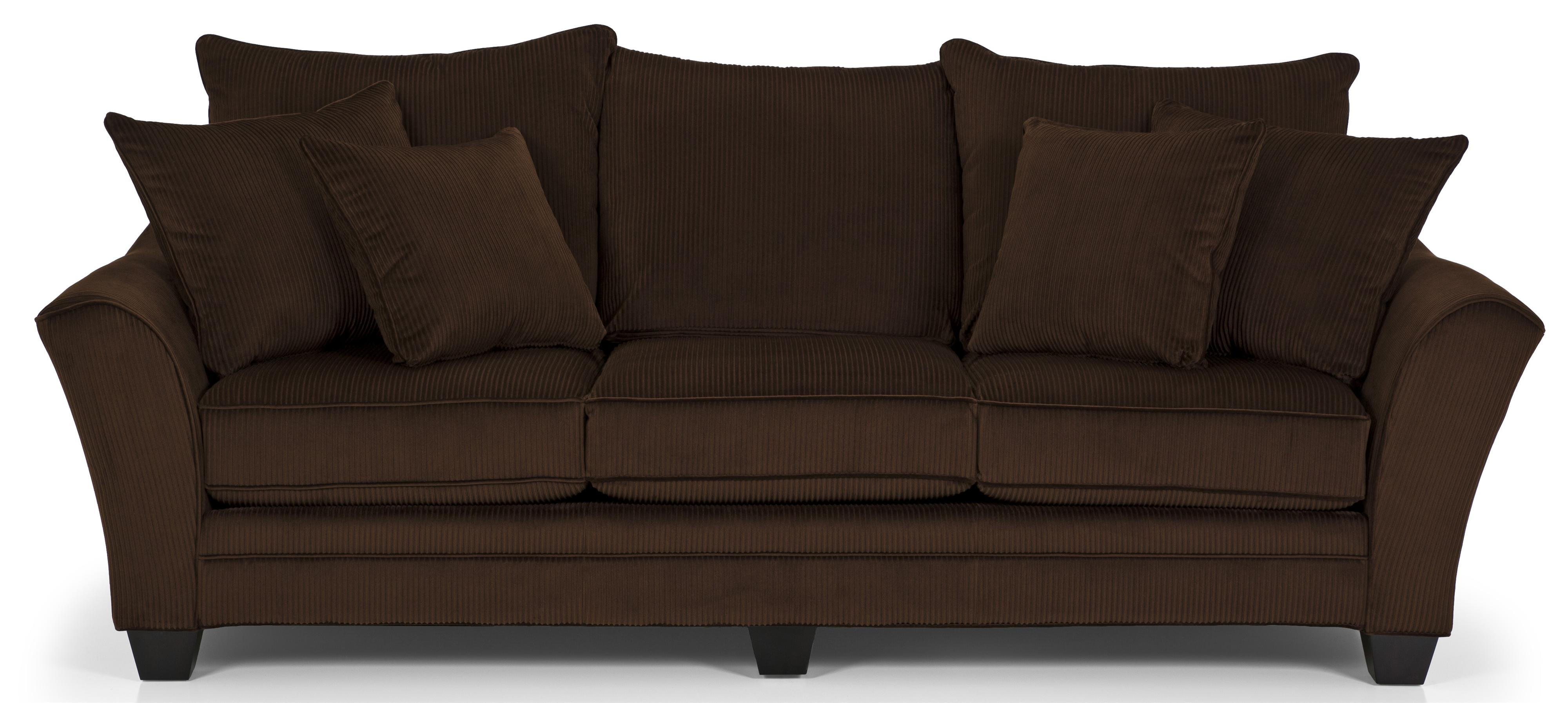 Stanton 456 Stanton Transitional Sofa with Scatter Pillow Back