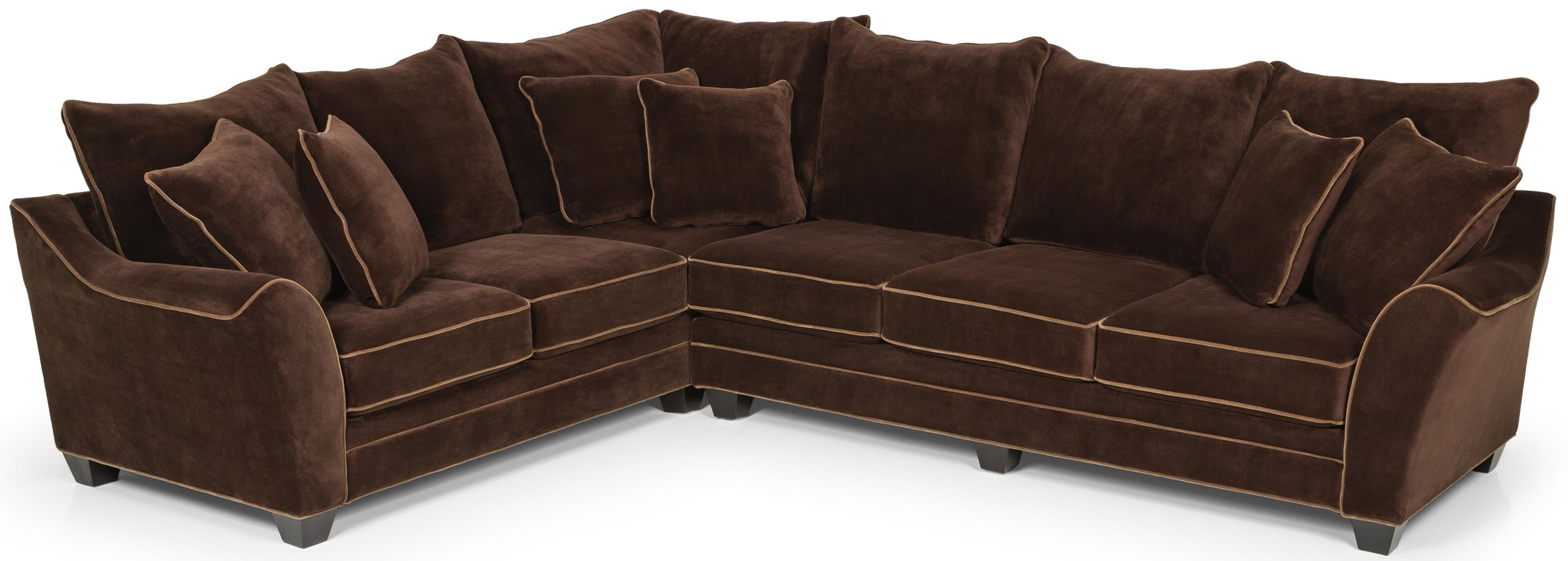 456 Sectional Sofa  by Stanton at Wilson's Furniture