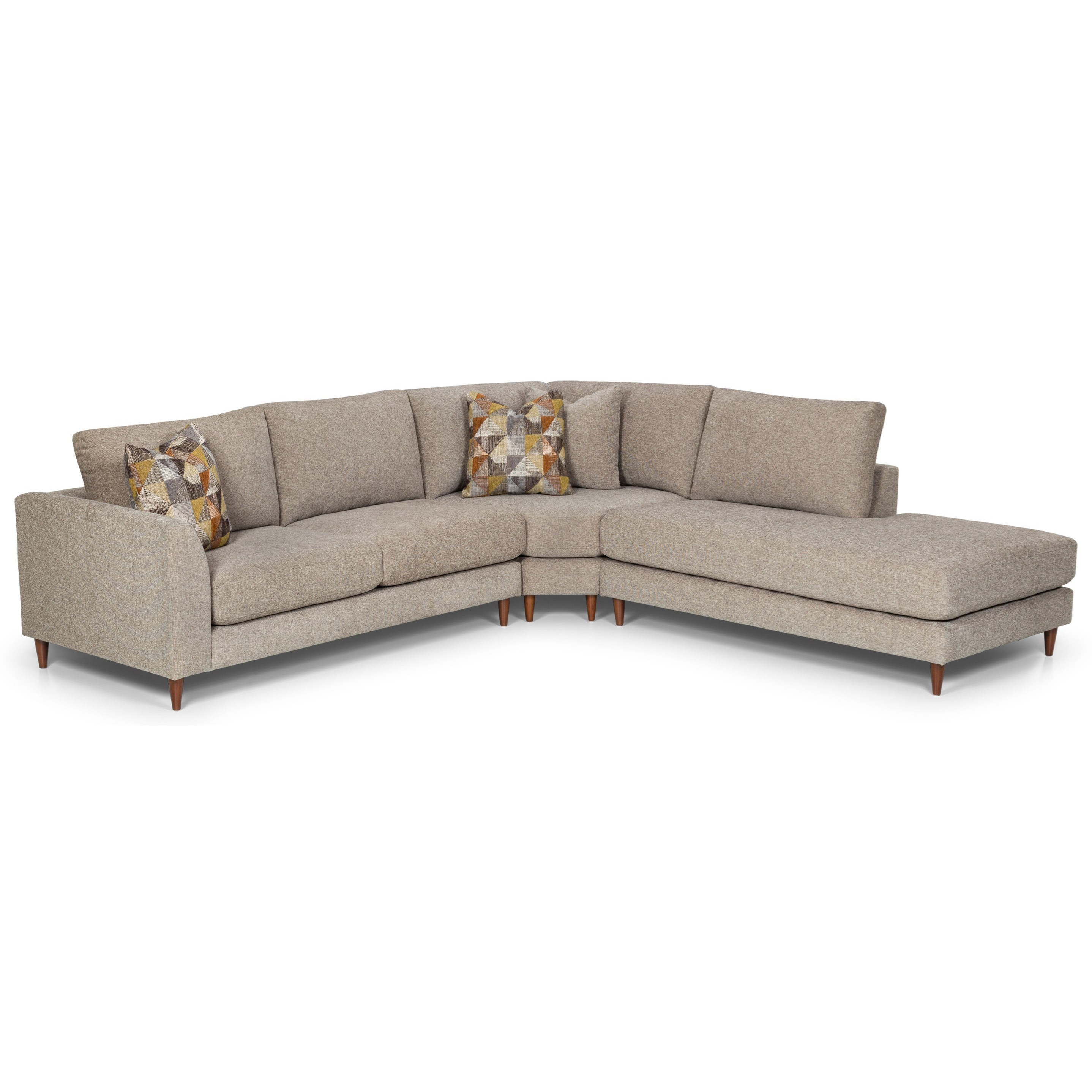 457 Sectional by Stanton at Wilson's Furniture