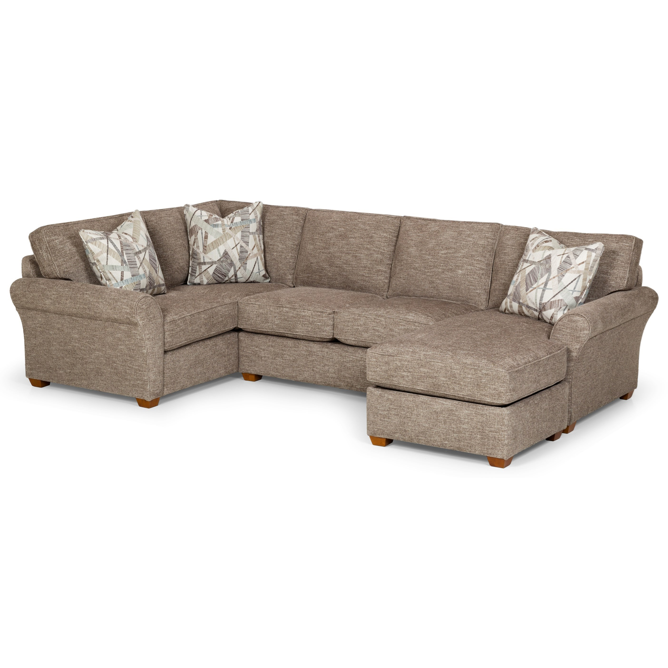 Stanton 460 2 Pc Sectional Sofa - Item Number: 460-95L+45R