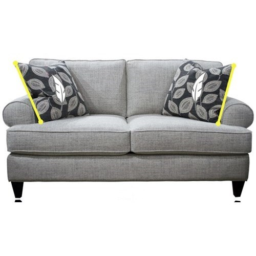 467 Loveseat by Stanton at Wilson's Furniture
