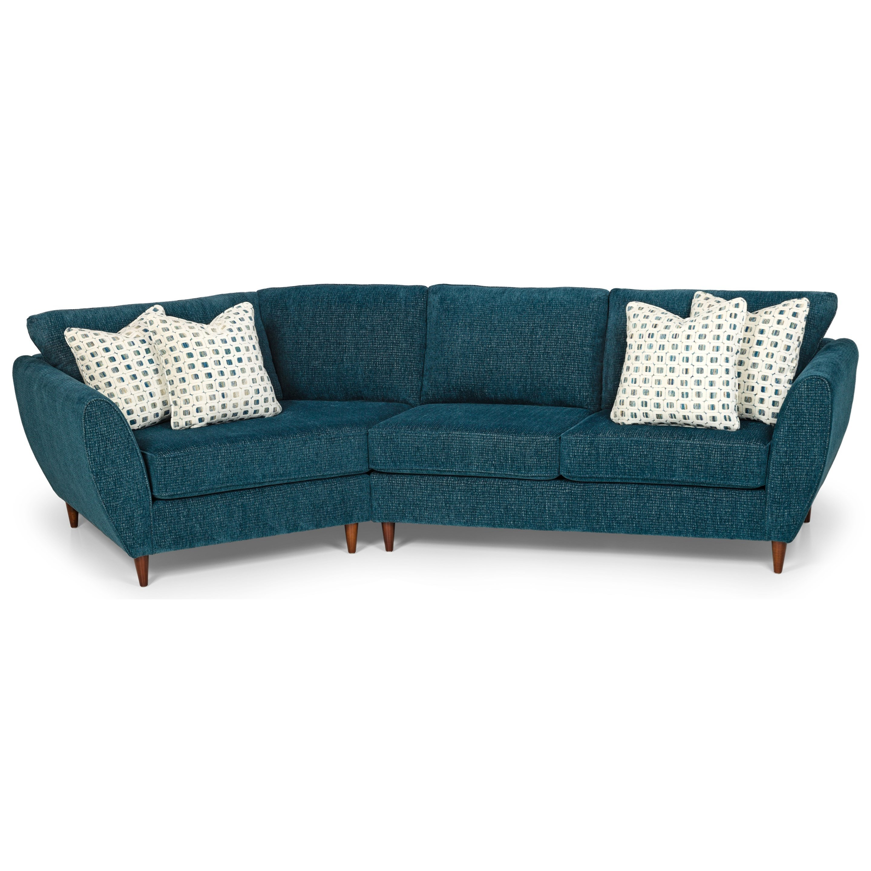 2-Piece Sectional Sofa w/ LAF Cuddler
