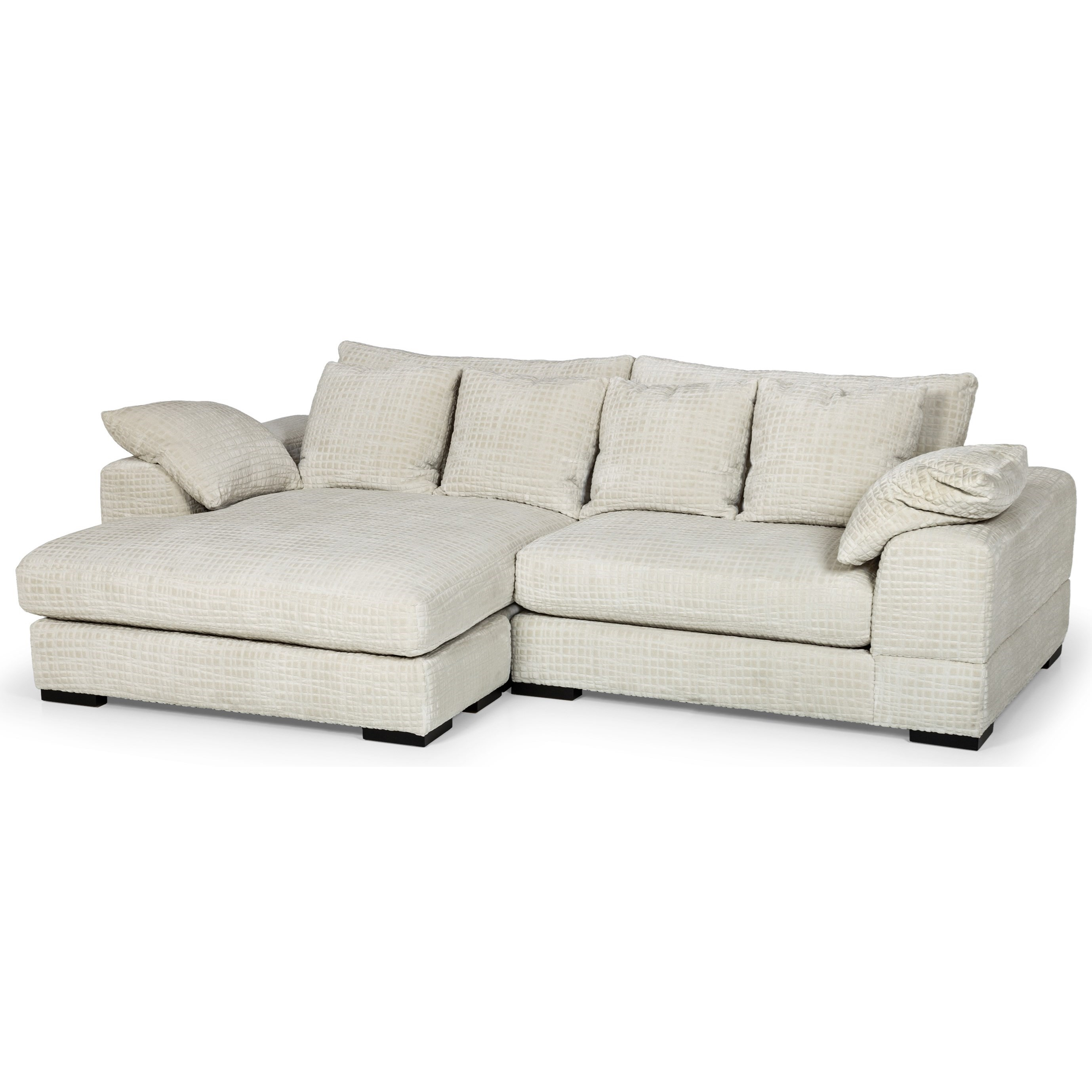 2-Piece Sectional Sofa w/ LAF Chaise