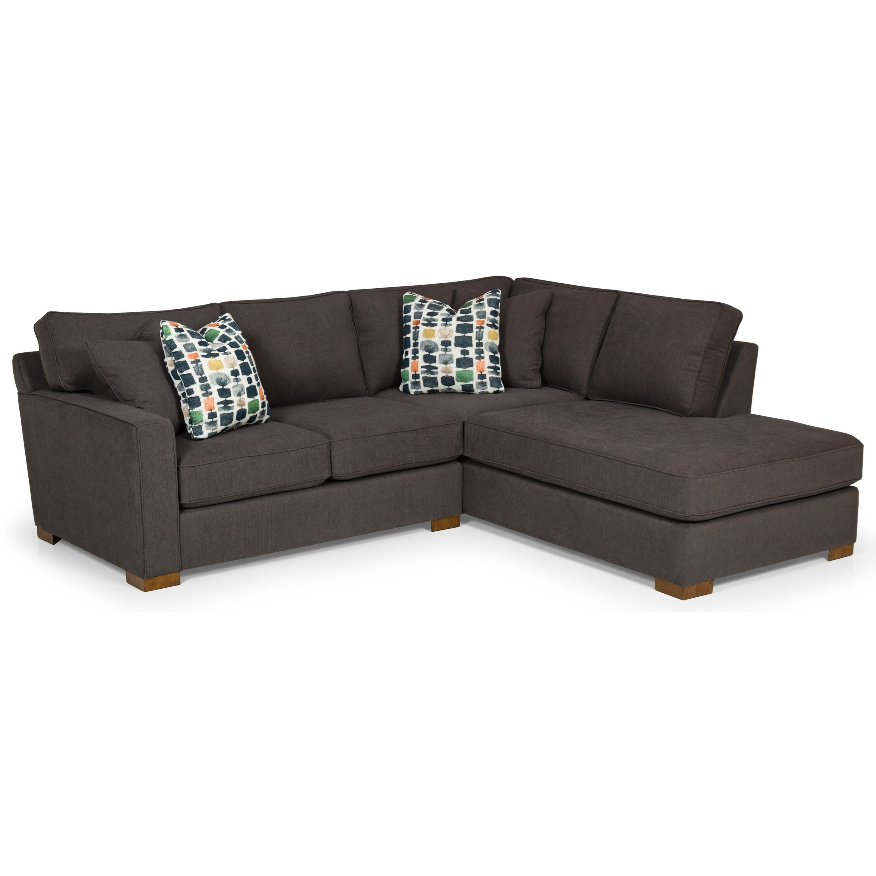 3-Seat Sectional Sofa w/ RAF Chaise