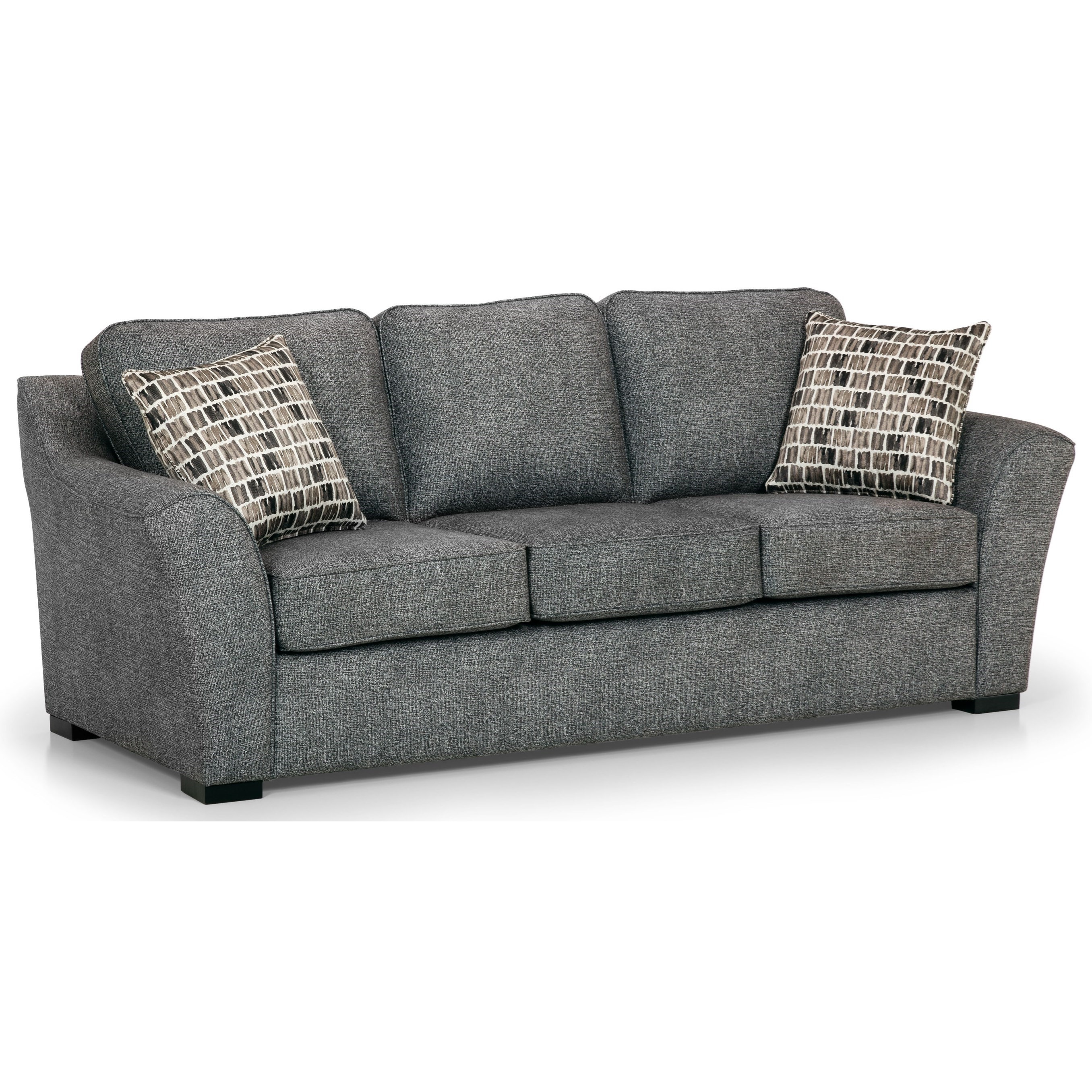 Colby Accent Chair Modern Contemporary Dusk Living Room: Sunset Home 484 Contemporary Sofa With Flared Arms