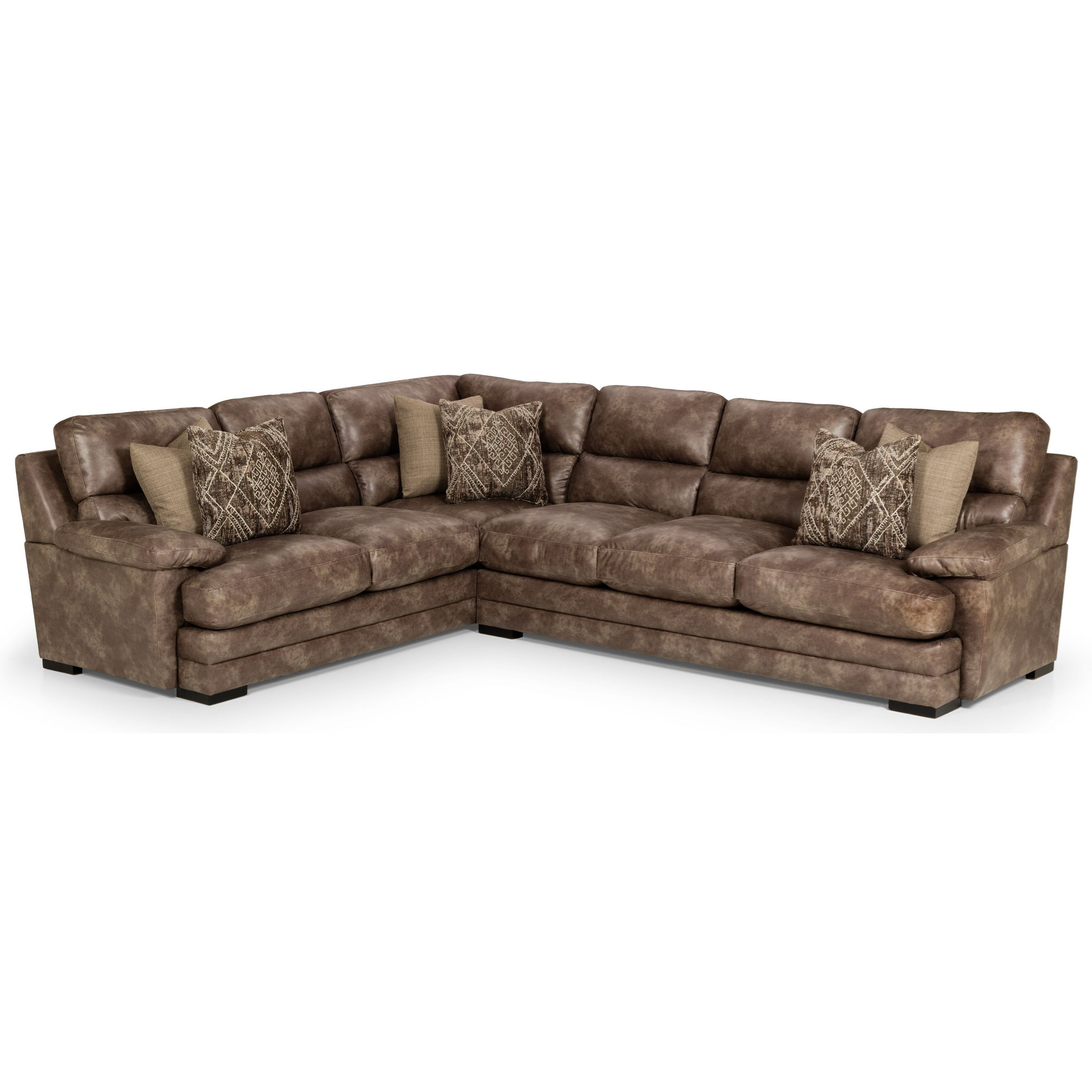 Stanton 9 Casual 9 Piece Sectional Sofa with Blendown Cushions