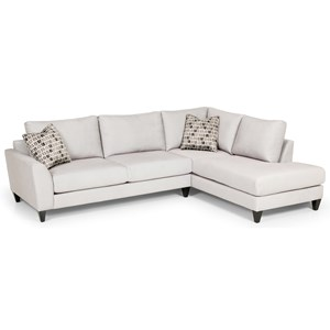 Stanton 494 Sectional Sofa  sc 1 st  Rifeu0027s Home Furniture : stanton 186 sectional - Sectionals, Sofas & Couches