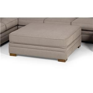 Extra Large Square Cocktail Ottoman