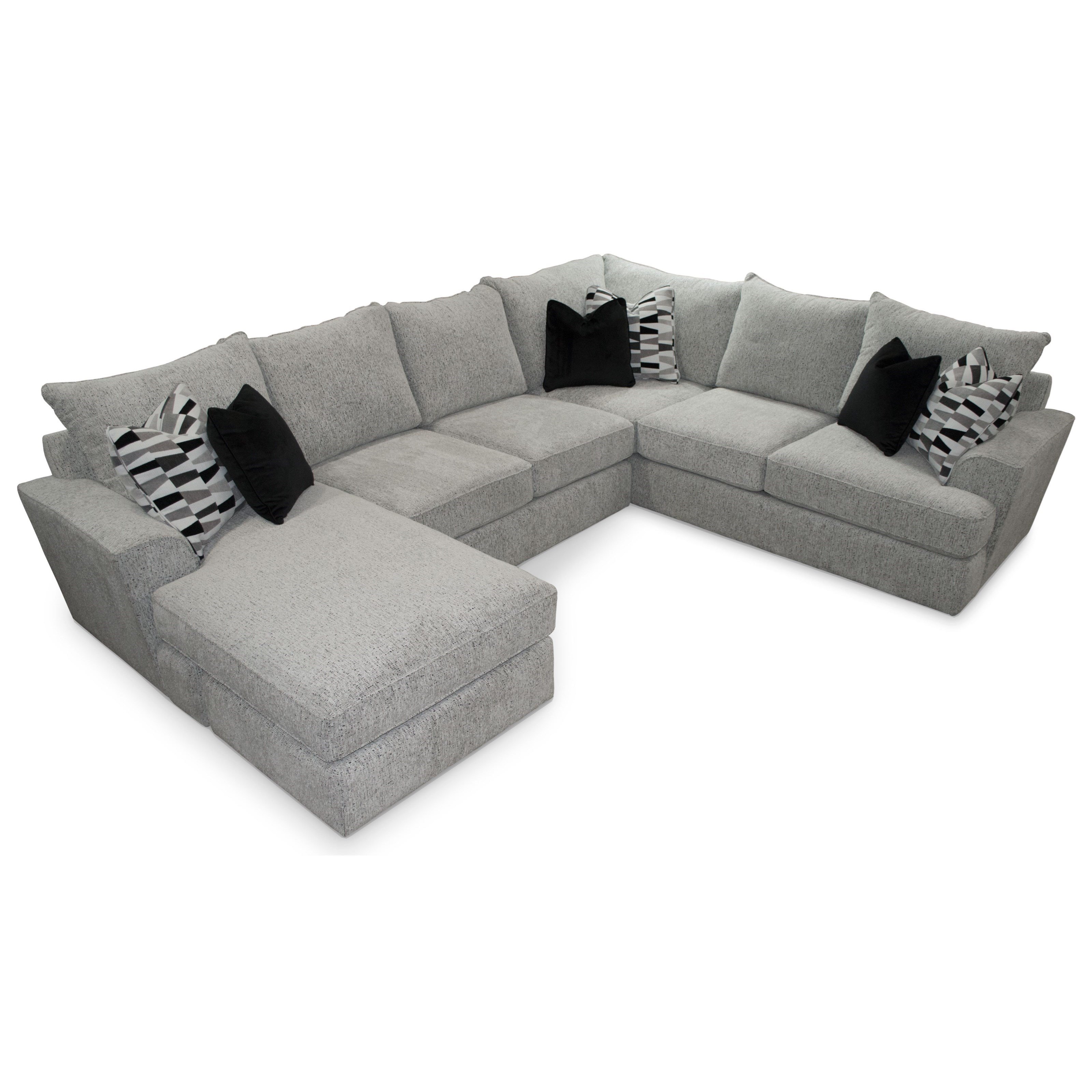 5 Seat Sectional Sofa w/ LAF Chaise