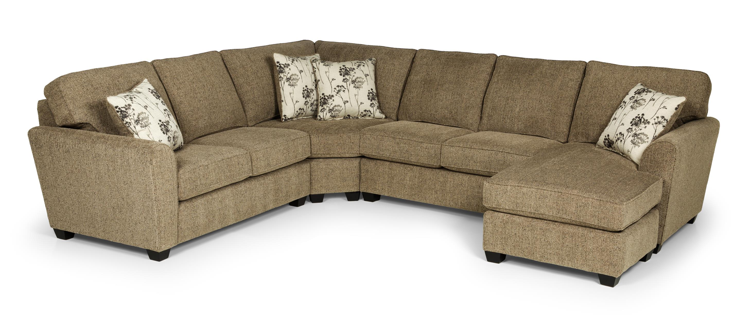 20469 3 Pc Sectional Sofa w/ LAF Chaise by Sunset Home at Sadler's Home Furnishings