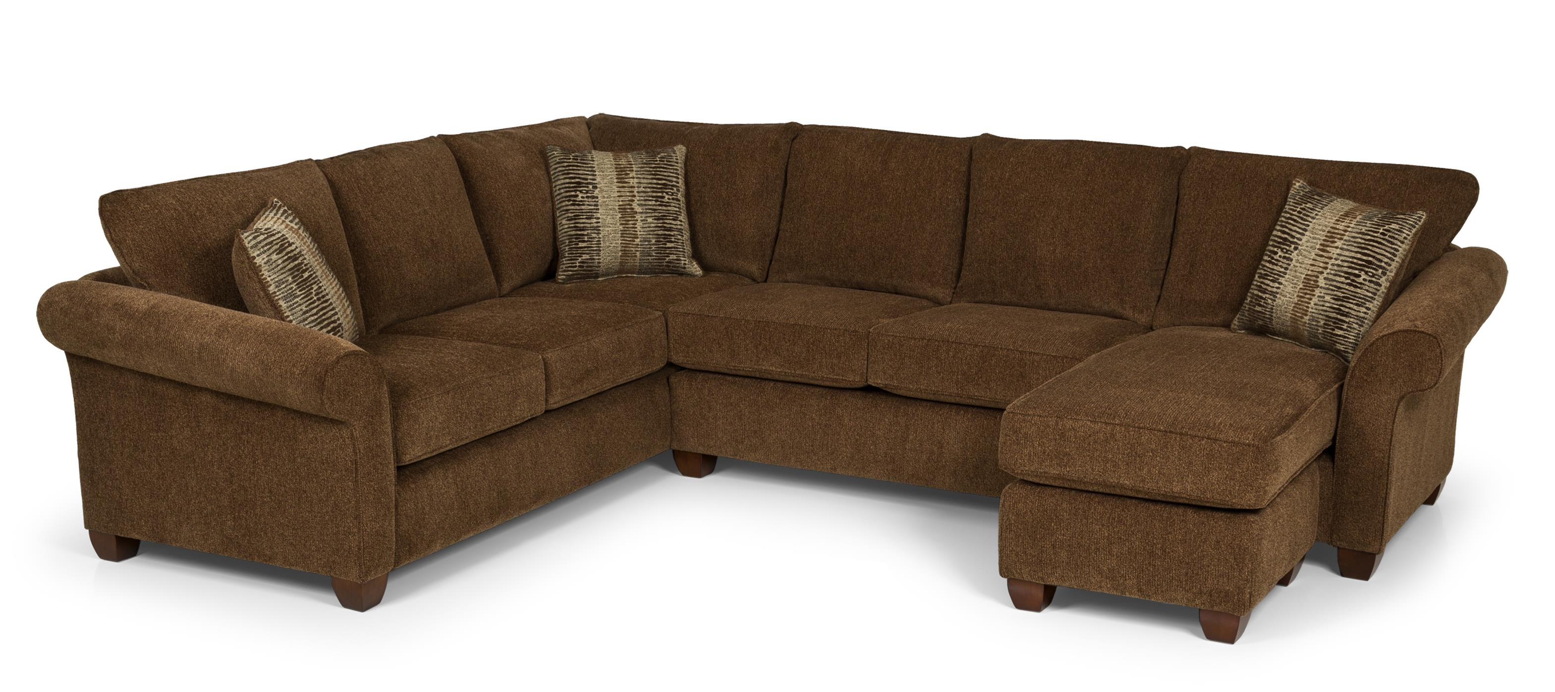 Stanton 664 two piece sectional sofa with laf chaise for Albany st germain sectional sofa chaise
