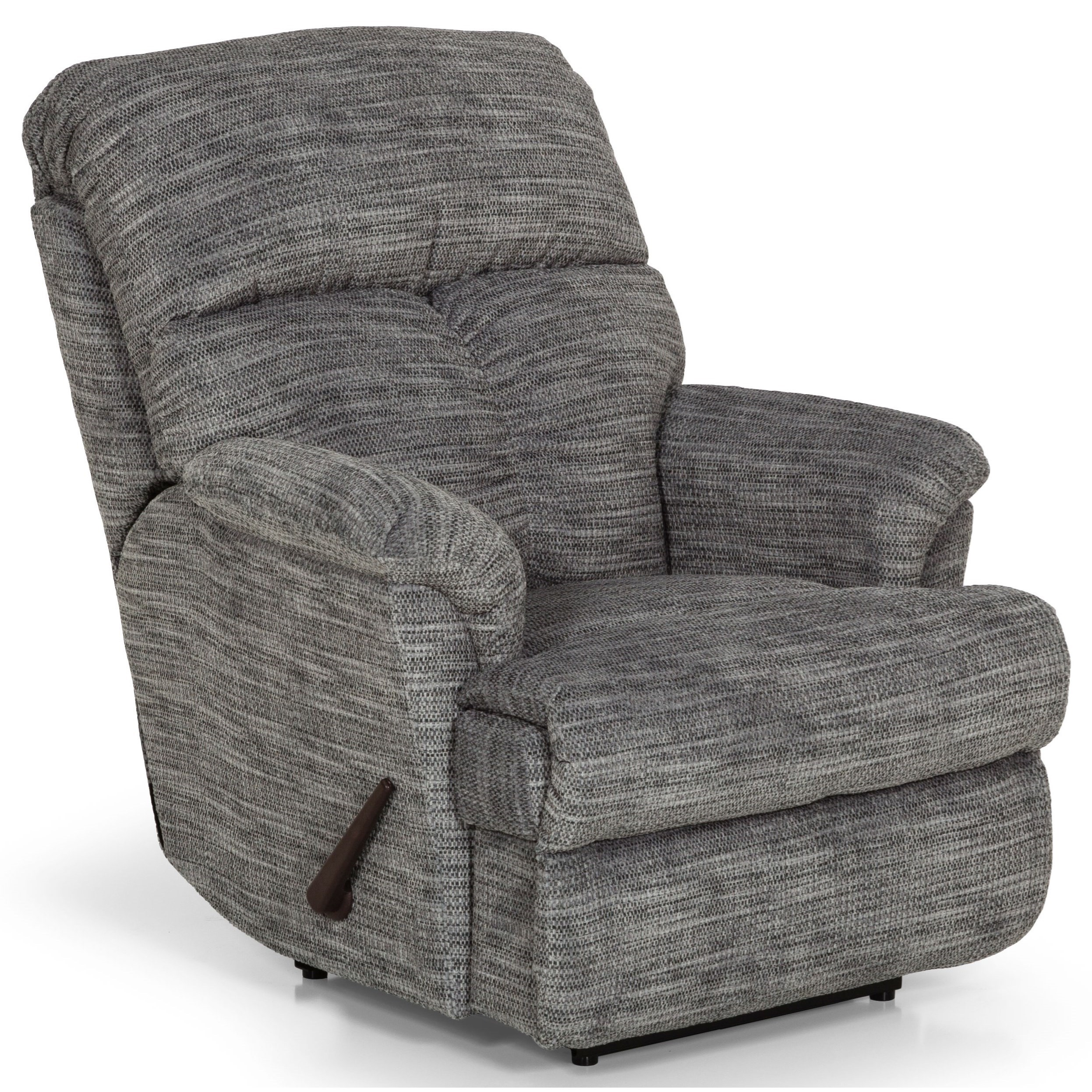 812 Power Rock Recliner w/ Pwr Headrest & Lumbar by Sunset Home at Sadler's Home Furnishings