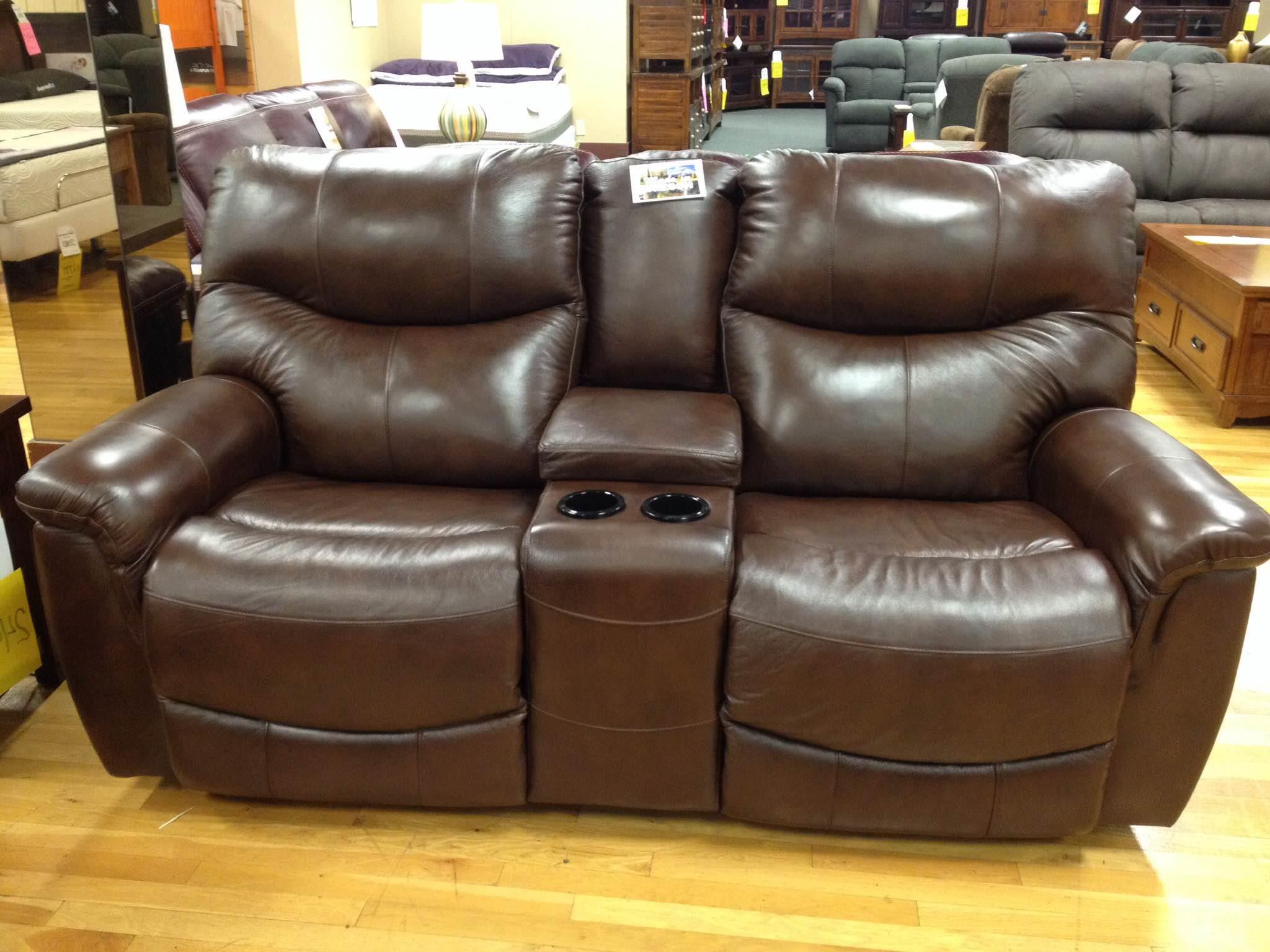 Stanton 836 Power Reclining Console Loveseat - Rife's Home ...