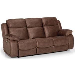 Dual Reclining Power Sofa w/ Pwr Head & Lumb