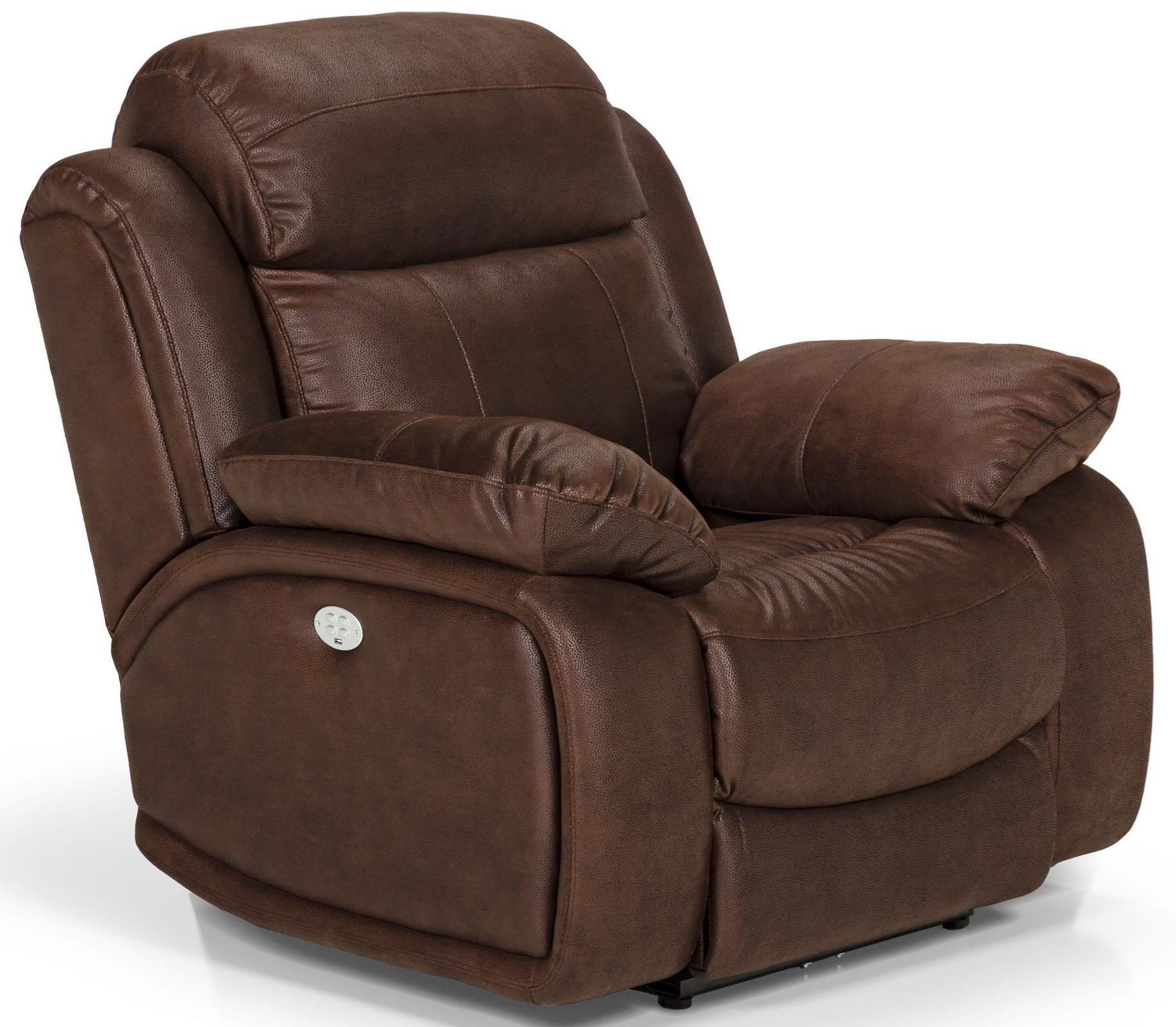 Stanton 853 Power Reclining Chair - Item Number 853-53PH  sc 1 st  Rifeu0027s Home Furniture & Stanton 853 Power Reclining Chair with Power Headrest - Rifeu0027s ... islam-shia.org