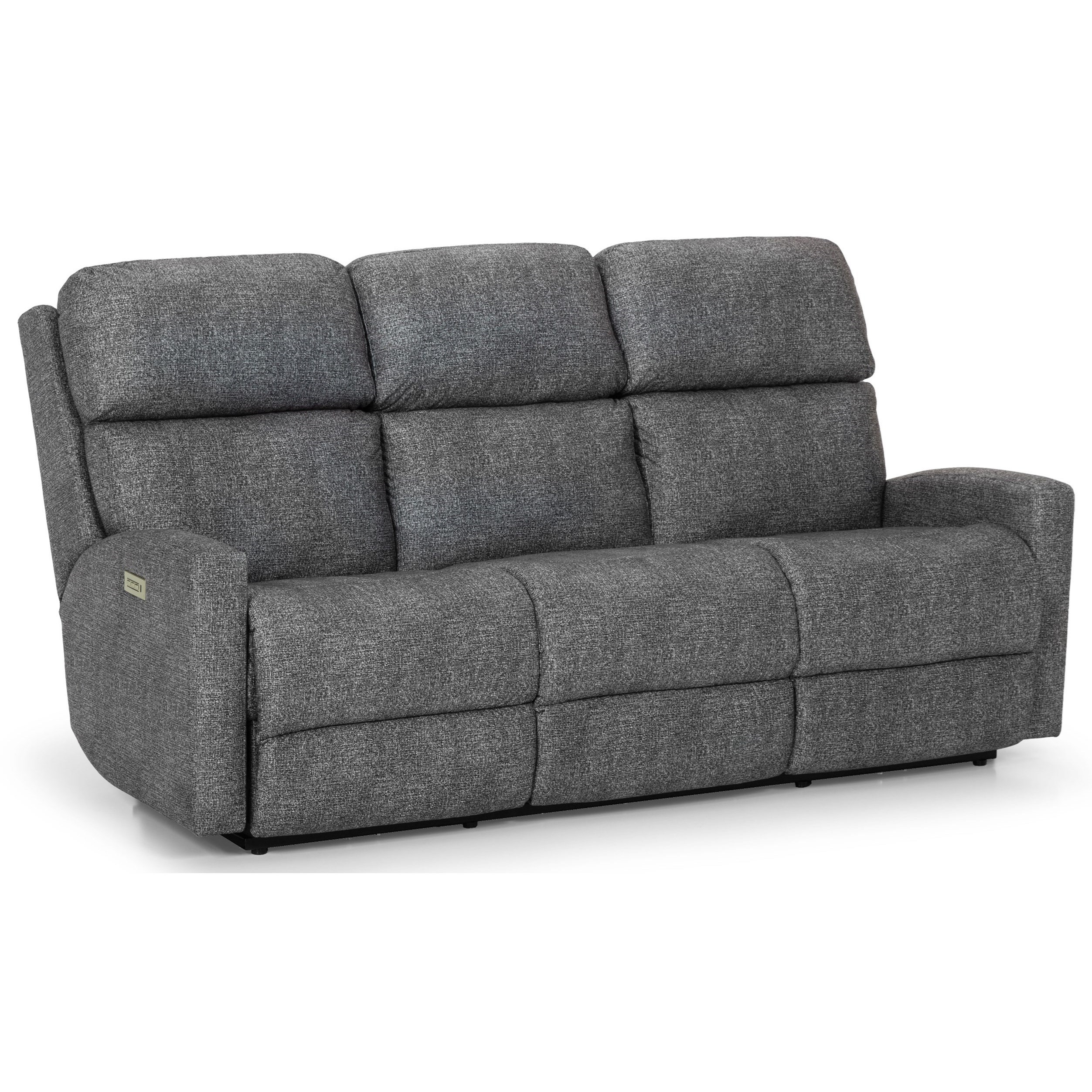 Fine Stanton 857 Contemporary Power Reclining Sofa With Power Interior Design Ideas Clesiryabchikinfo