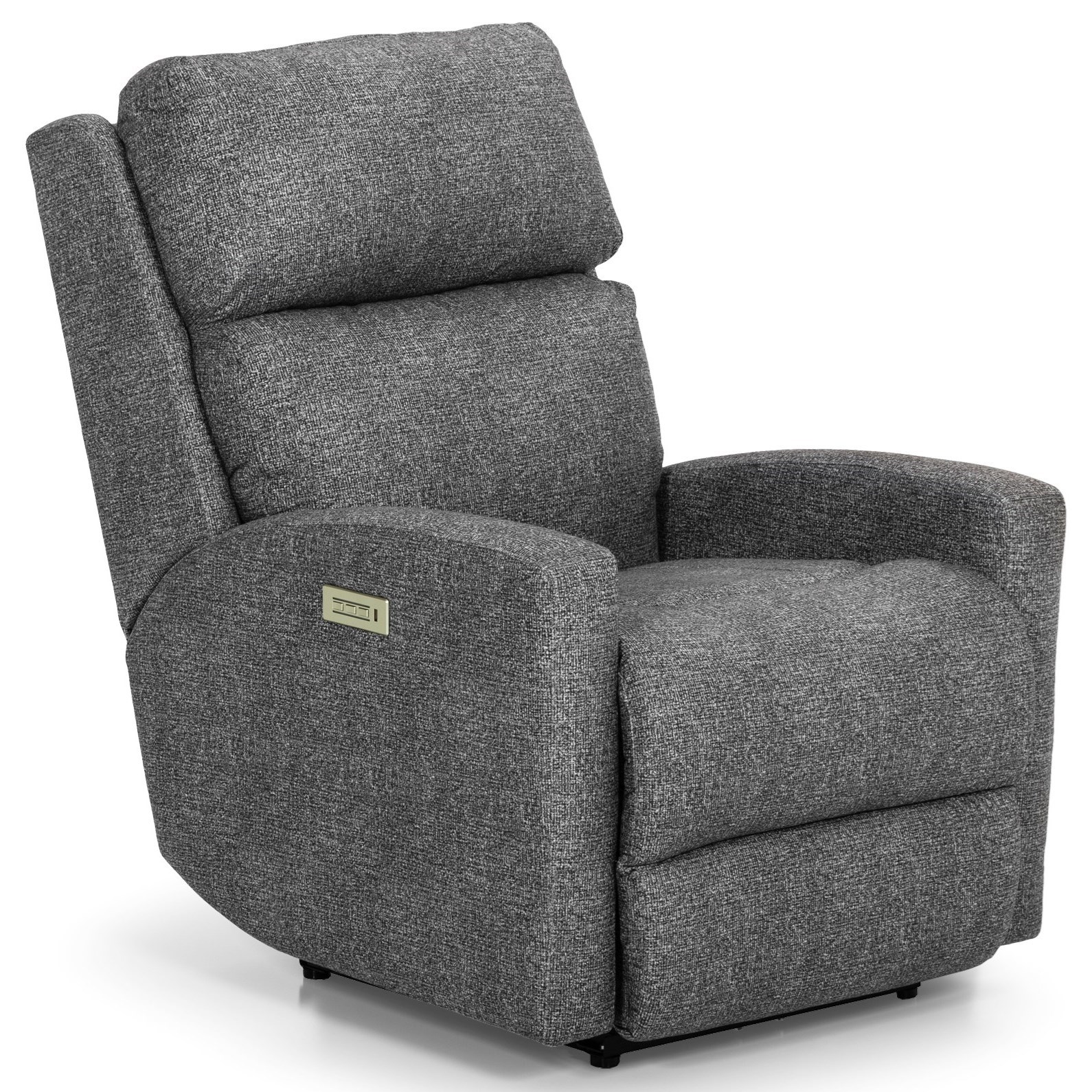 857 Power Reclining Chair w/ Pwr Head & Lumbar by Sunset Home at Sadler's Home Furnishings