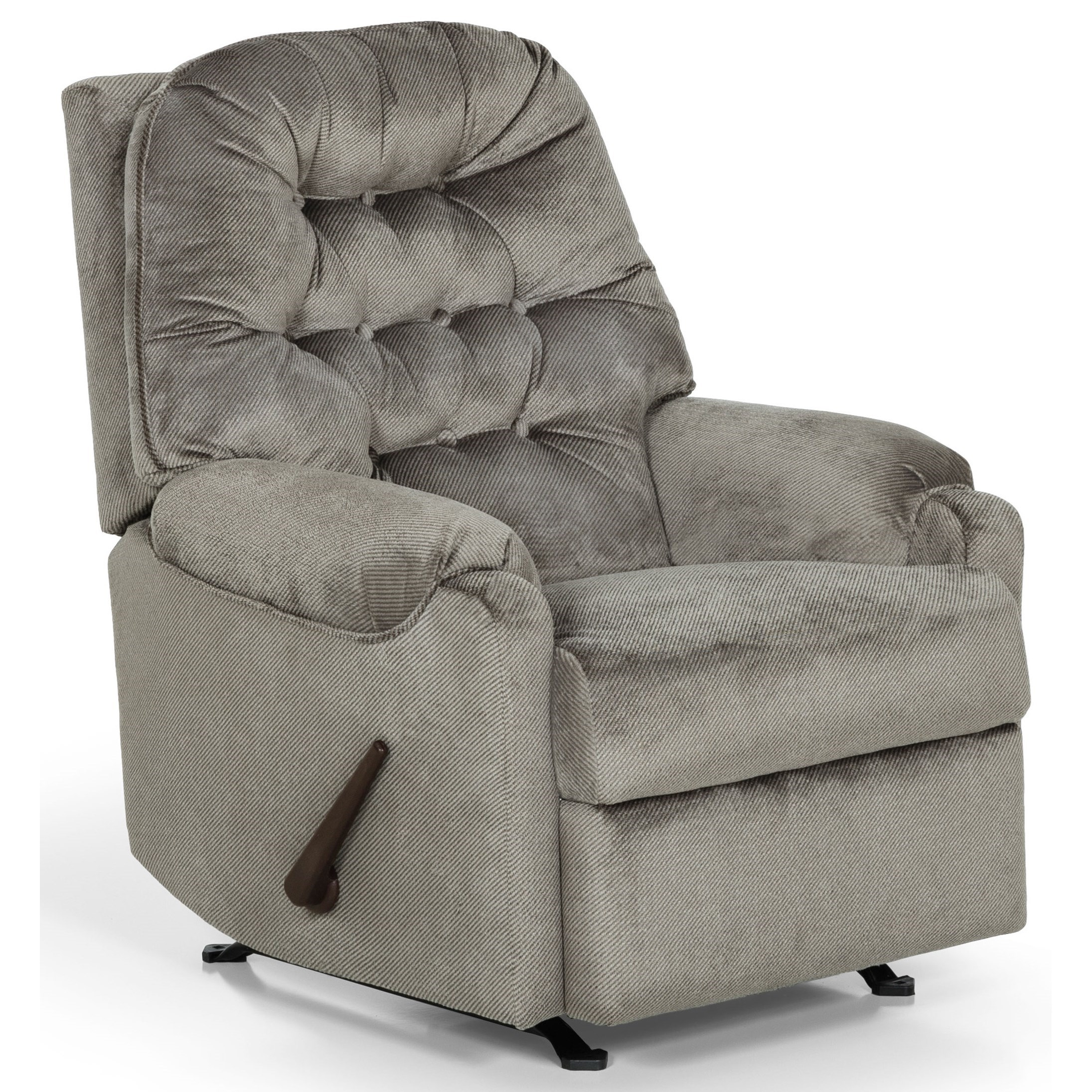883 Swivel Gliding Reclining Chair by Sunset Home at Sadler's Home Furnishings