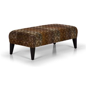 Stanton Accent Chairs and Ottomans Lg. Rectangular Ottoman