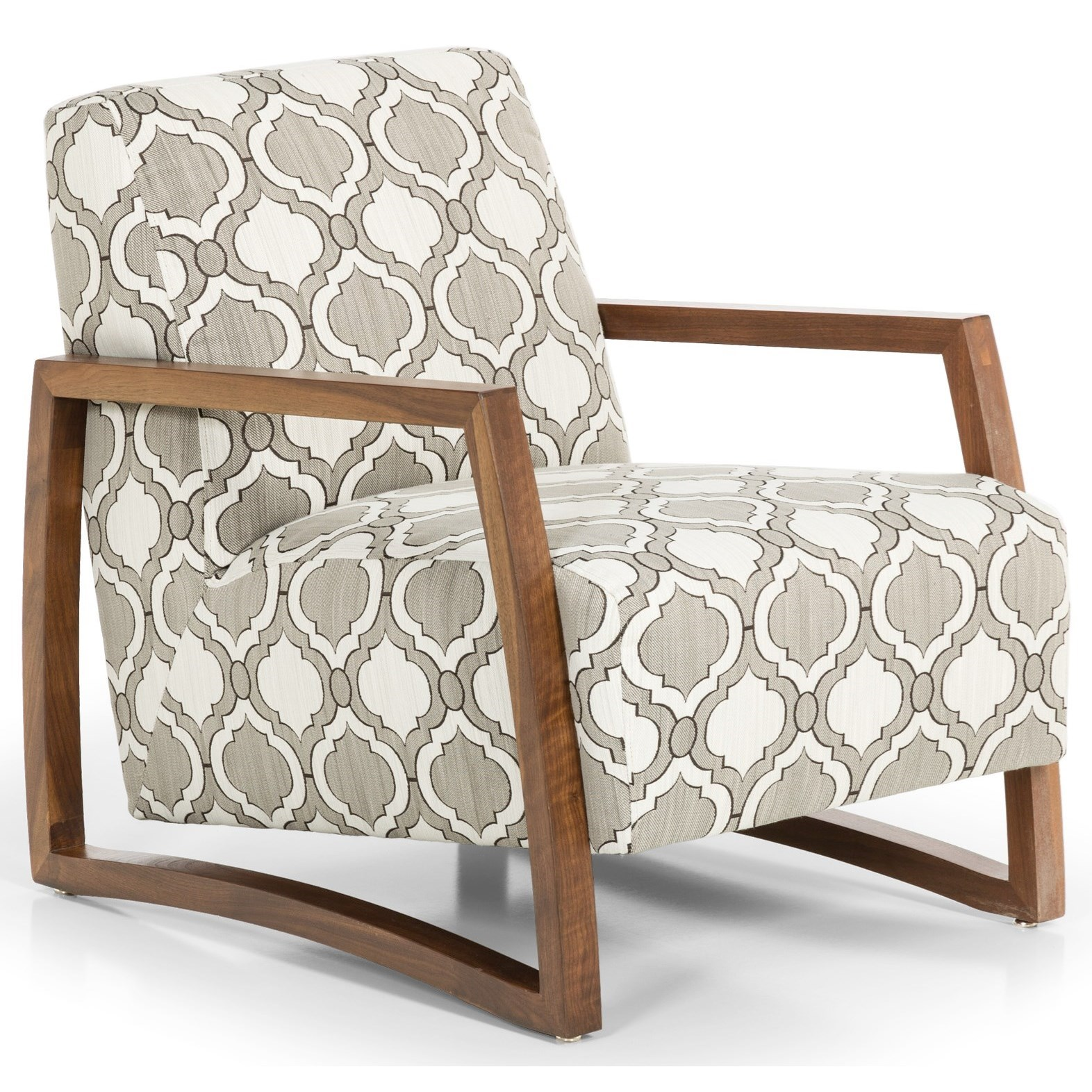 Stanton Accent Chairs And Ottomans Contemporary Upholstered Accent