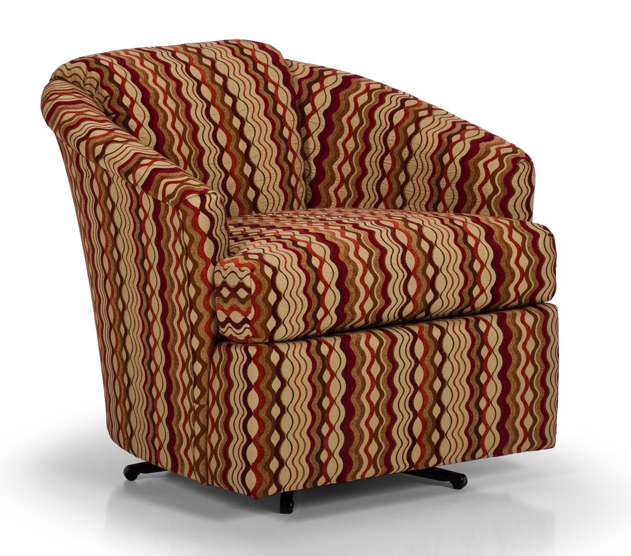 stanton accent chairs and ottomans swivel chair item number