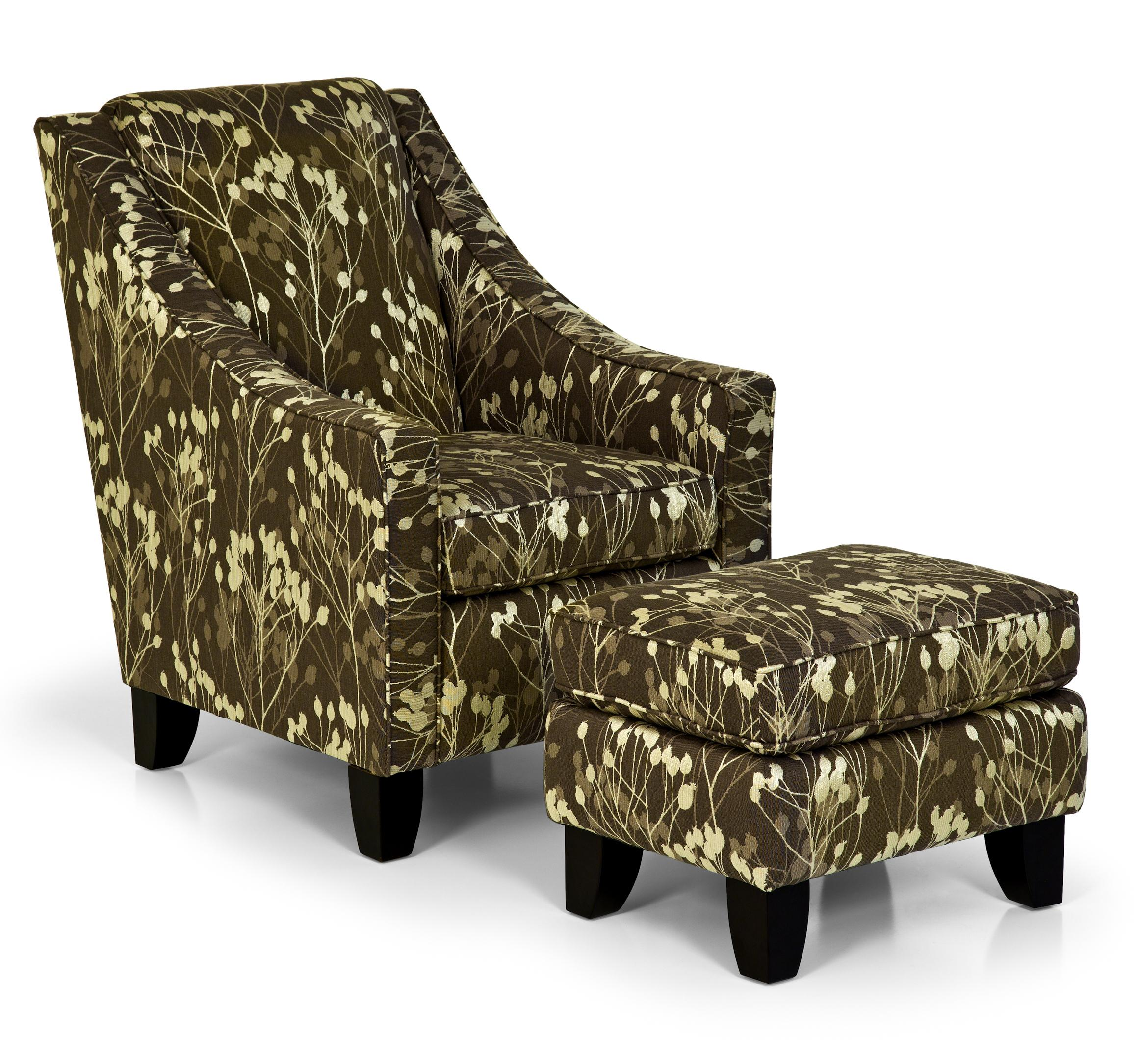 Stanton Accent Chairs And Ottomans Accent Chair And Ottoman   Item Number:  958 07