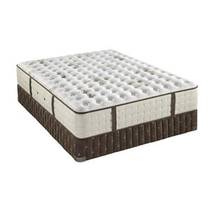 Stearns & Foster Ellie Grace Queen Cushion Firm Mattress Set