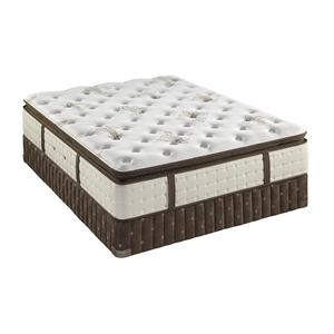 Stearns & Foster Beckton Queen Plush Euro Pillow Top Mattress