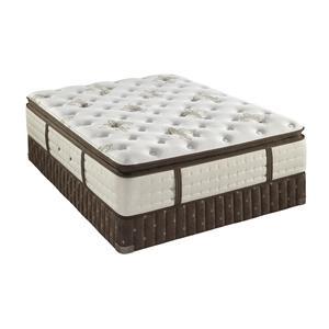 Twin XL Plush Euro Pillow Top Mattress Set