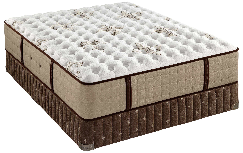 Stearns & Foster Friendfield Queen Luxury Cushion Firm Mattress Set - Item Number: LuxCushFirm-Q+608615Q