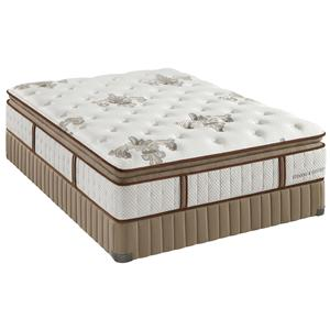 Stearns & Foster Estate Gel Dorothy Queen Lux Firm Euro PT Mattress