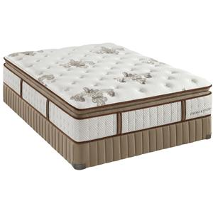 Stearns & Foster Estate Gel Dorothy Queen Lux Plush Euro PT Mattress