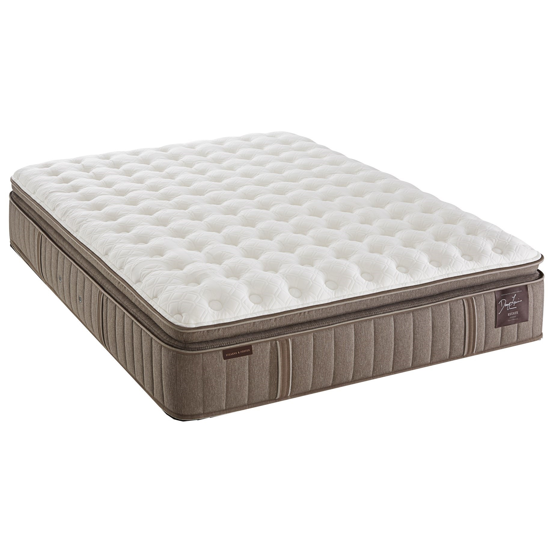 Stearns & Foster F2 Estate CF EPT 2016 King Cushion Firm Euro PT Mattress - Item Number: CushFirmEPT-K