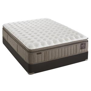 Stearns & Foster Oak Terrace Queen Cushion Firm Euro PT Mattress Set