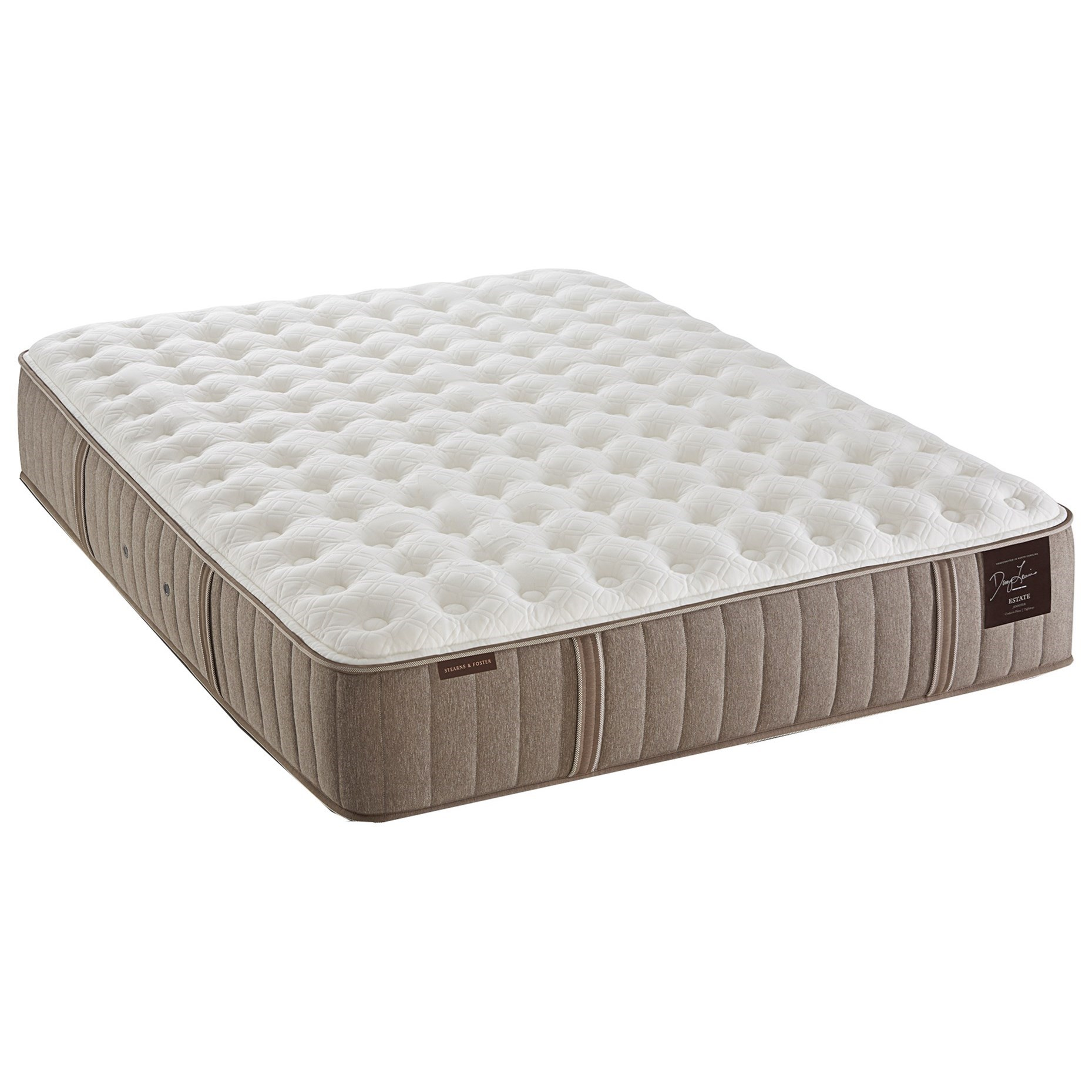 Stearns Foster Estate Mattress Stearns & Foster Villa Ascoli Luxury Firm Queen Cushion ...