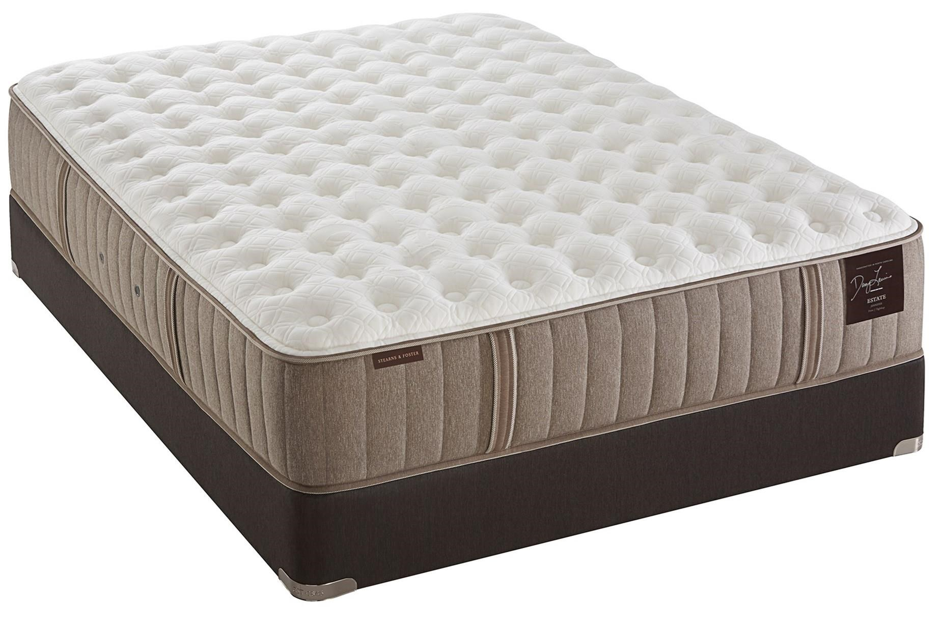 Stearns & Foster Oak Terrace Luxury Firm Queen Firm Tight Top Mattress Set - Item Number: Firm-Q+609663Q