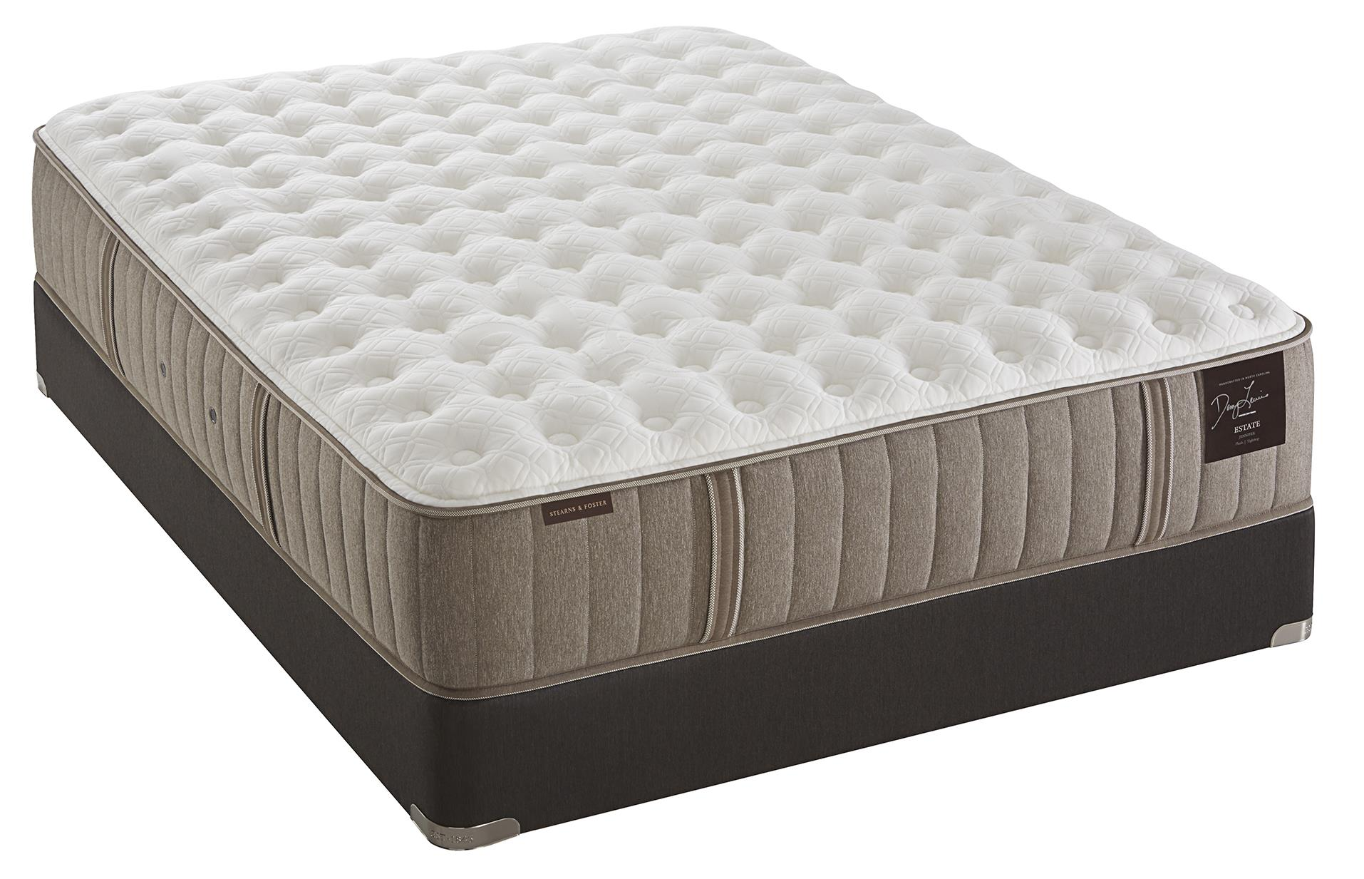 Stearns & Foster Oak Terrace Luxury Plush King Plush Tight Top Mattress Set - Item Number: Plush-K+2xEase-TXL