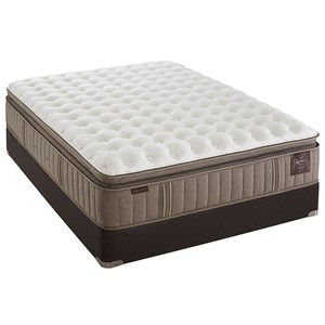 Stearns & Foster Scarborough Queen Firm Euro PT Mattress Set