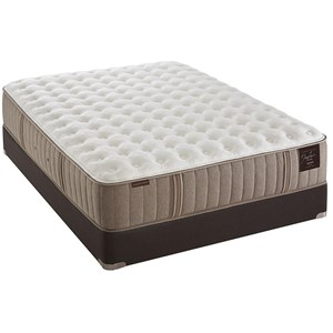 Stearns & Foster Scarborough I Queen Firm Tight Top Mattress Set